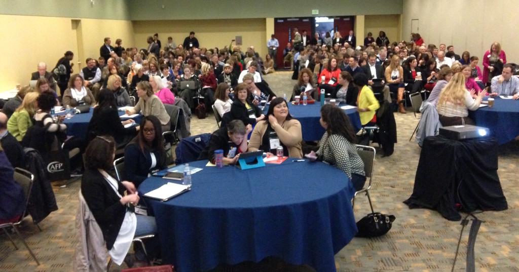 A room full of eager storytellers!