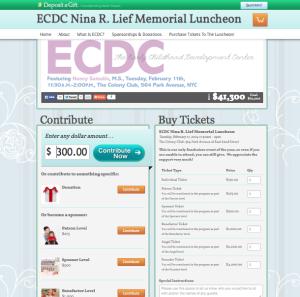 Nonprofit Crowdfunding Website Example