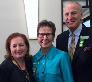 Carol with Dianne Belk and her husband Lawrence Calder.