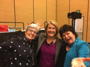 Lori, Gail & Marcy at AFP