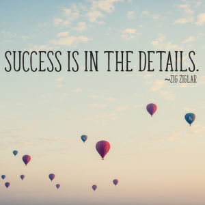 Nonprofit Success is in the Details