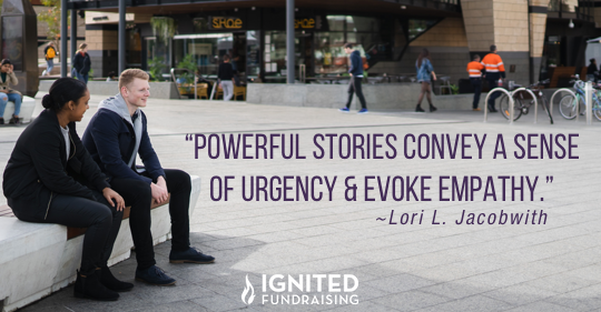 powerful stories convey a sense of urgency and evoke empathy
