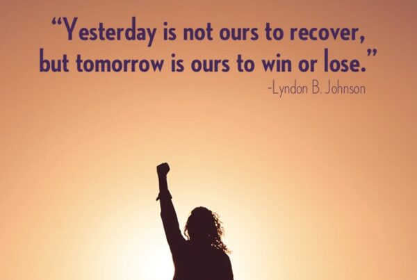Tomorrow is ours to win or lose