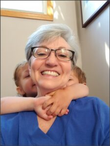 The caring truth-teller and her grandkids