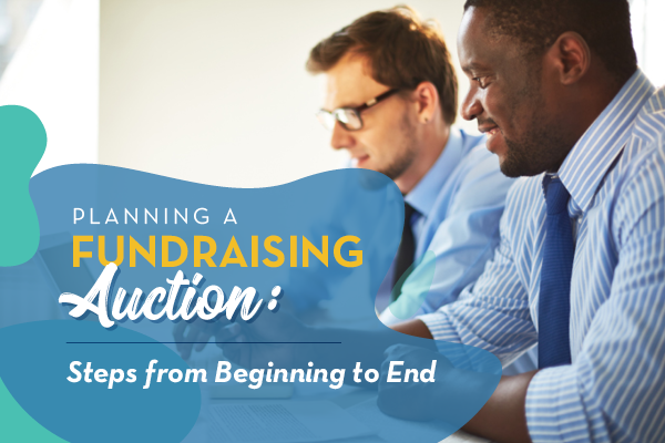 planning a fundraising auction